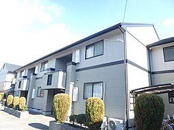兵庫県明石市大久保町松陰の賃貸アパートの外観