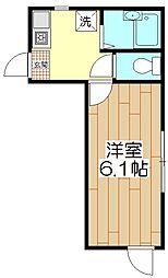 オペラシオンボヌール竹の塚[105号室]の間取り