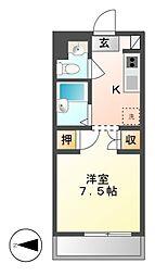 キタシゲビル[3階]の間取り