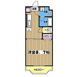 アースグローリエ[2階]の間取り