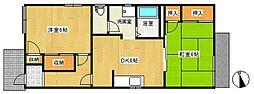 いずみハウス[1階]の間取り