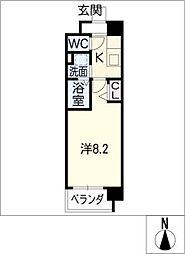 フラワーズドリームII[6階]の間取り