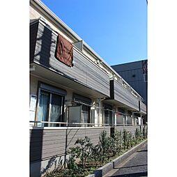 東京都葛飾区白鳥4丁目の賃貸アパートの外観