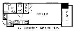 白島森野ビル--[303号室]の間取り