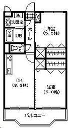 フェニックスマンション A棟[203号室]の間取り