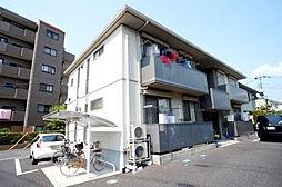 埼玉県春日部市豊町2丁目の賃貸アパートの外観