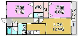 メゾン集[2階]の間取り