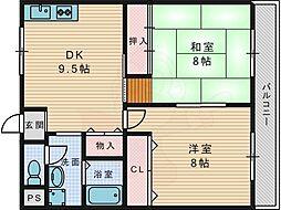【敷金礼金0円!】京阪交野線 交野市駅 徒歩11分