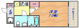 アクロス神戸住吉ステーションフロント[302号室]の間取り