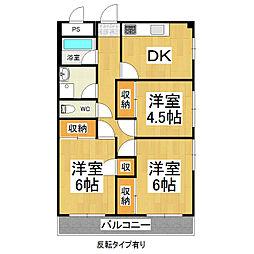 小平ビル[3階]の間取り