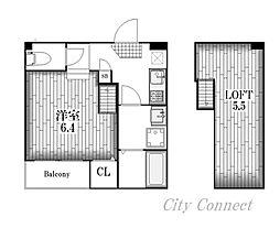エスハウス[1階]の間取り