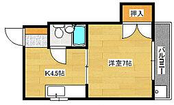 新家ビル[403号室]の間取り