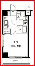東京都足立区西新井栄町3丁目の賃貸マンションの間取り