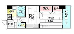 メゾンサクラ9[8階]の間取り