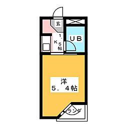 仙台堤町ロングビーチマンション[1階]の間取り