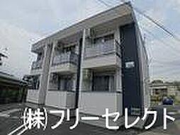 福岡県筑紫野市石崎2丁目の賃貸アパートの外観