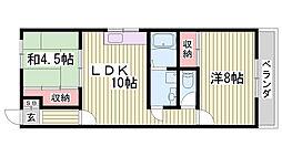JR姫新線 余部駅 バス20分 大村停下車 徒歩20分の賃貸アパート