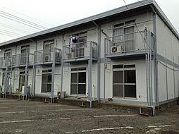 富沢ホワイトコーポA[1階]の外観