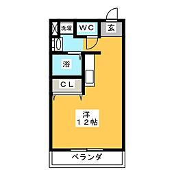 グリーンライフ[2階]の間取り