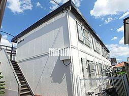 第六松コーポ[1階]の外観