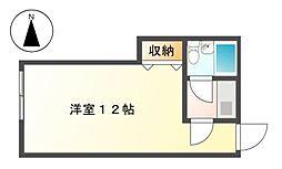 チサンマンション広小路[3階]の間取り