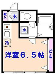 石井第2ビル[302号室]の間取り