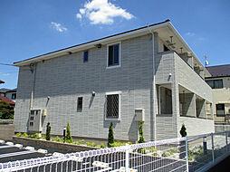 東京都立川市砂川町1丁目の賃貸アパートの外観