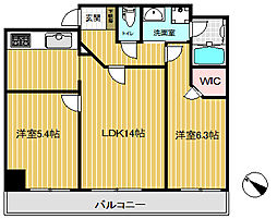 エステムプラザ神戸元町・海岸通[2階]の間取り