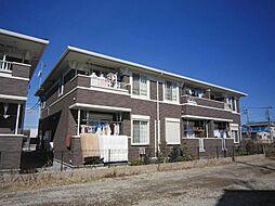 埼玉県川口市安行藤八の賃貸アパートの外観
