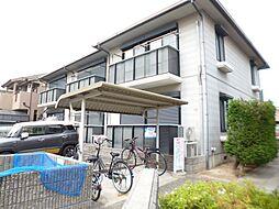 大阪府高槻市宮田町1丁目の賃貸アパートの外観