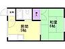 間取り,1DK,面積24.3m2,賃料3.0万円,バス くしろバス北高正面下車 徒歩1分,,北海道釧路市愛国西1丁目36-16