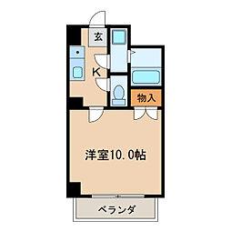 シャト-村瀬II[2階]の間取り