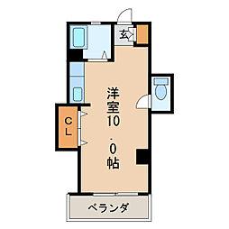 新栄ハイツ[2階]の間取り