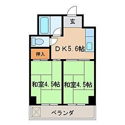 向陽ビル[9階]の間取り