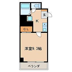 マザック新栄[10階]の間取り