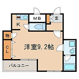 Fible SAKAE[6階]の間取り