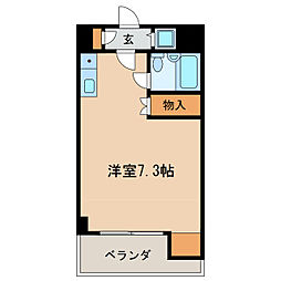グリーンハイツ東桜[2階]の間取り