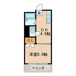 ナゴヤビル[4階]の間取り