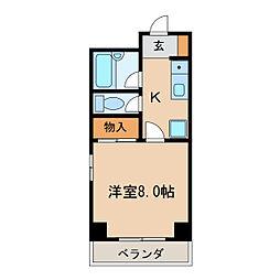 ベルコモンズ[4階]の間取り