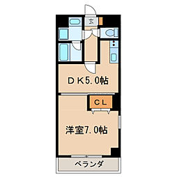 三高ANNEXBLD[5階]の間取り