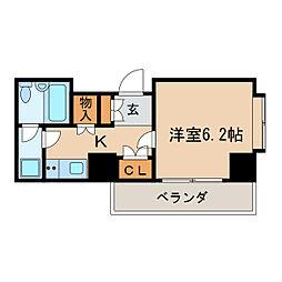 ライオンズマンション泉第2[7階]の間取り