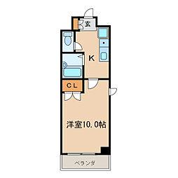 カーサ新栄[8階]の間取り