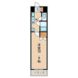 カーサ新栄[4階]の間取り