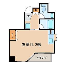 プロビデンスサーリII[8階]の間取り