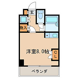 メゾン・ド・レジャンド[5階]の間取り