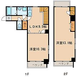 ANNEX・IZUMI[6階]の間取り