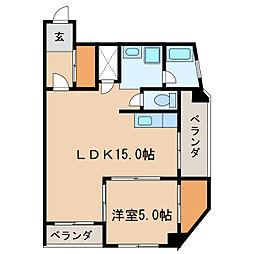 主税ビル[7階]の間取り