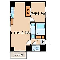 アウローラ泉04[2階]の間取り
