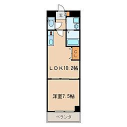 マルティーノ新栄[10階]の間取り