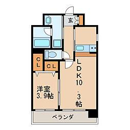 東桜コート[8階]の間取り